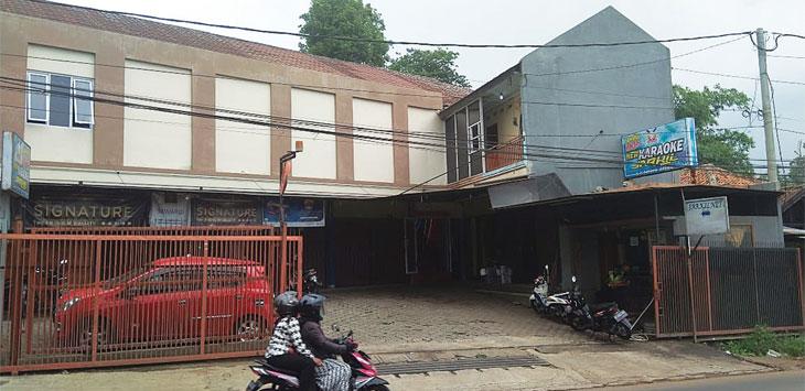 TKP: Lokasi tempat hiburan karaoke yang menjadi tempat pengeroyokan Supervisi Jarkil Agus