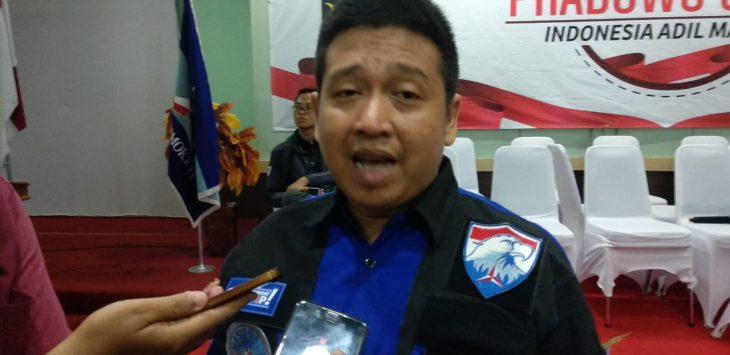 Ketua DPC Partai Demokrat Kota Cirebon Handarujati Kalamullah (alwi )