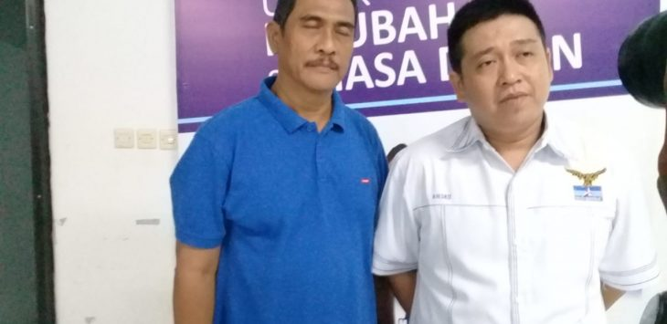 Ketua Partai Demokrat Kota Cirebon Handarujati Kalamullah (baju putih) (ist)