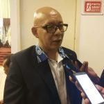 Ketua Umum KONI Kabupaten Cirebon Hengky Choernia