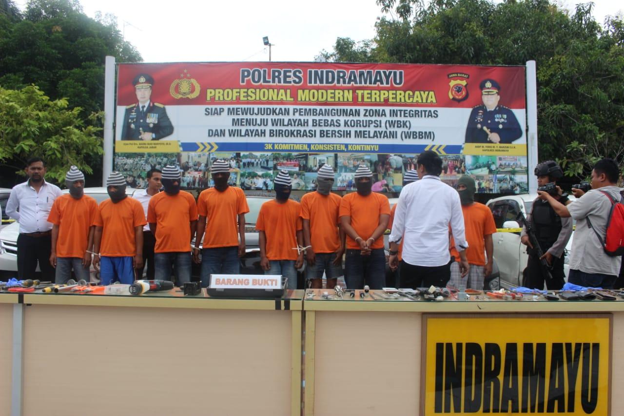 Komplotan spesialis pencuri mobil dibekuk Satreskrim Polres Indramayu
