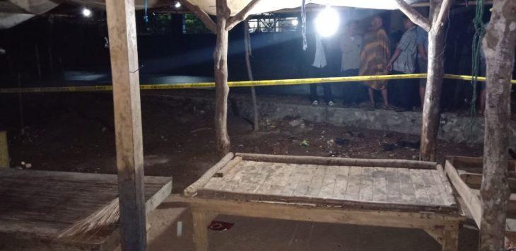 tempat kejadian duel maut tiga bersaudara, Kampung Cibendasari RT 07/02, Desa Cipinang, Kecamatan Cibatu, Kabupaten Purwakarta./Foto: PS