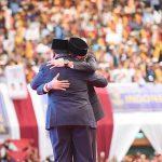 Prabowo dan Sandiaga Uno di Pidato Kebangsaan Indonesia Menang di JCC Senayan (FB)