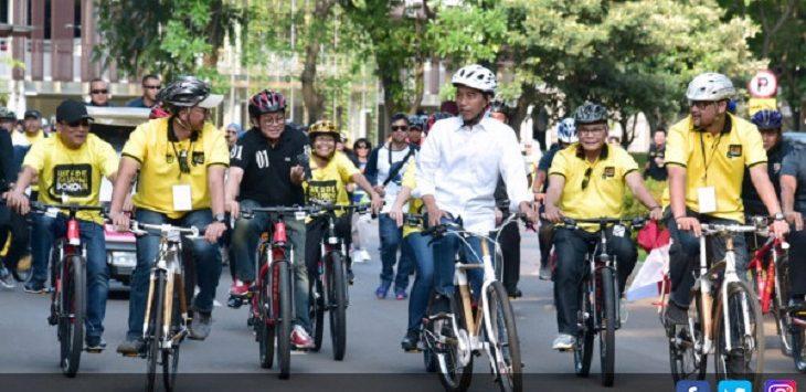 Presiden Jokowi bersama Alumni UI./Foto: jpnn