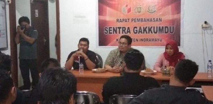 Rahmat Bagja kunjungi kantor Bawaslu Indramayu (foto yanto)