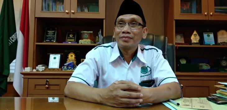 Rektor terpilih IAIN Syekh Nurjati Cirebon periode 2019-2023 Dr Sumanta saat ditemui di ruangannya./Foto: Alwi
