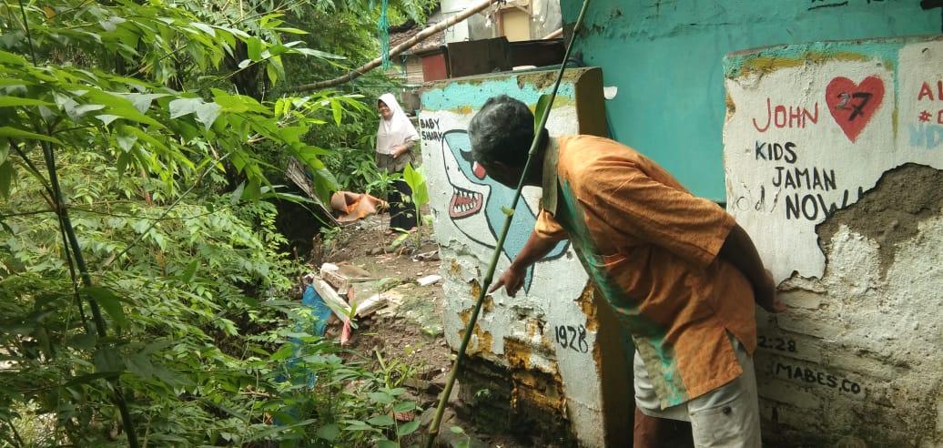 Rumah warga di Desa Sitiwinangun