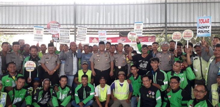 Tukang ojek di Indramayu siap jaga kantibmas dan kondusifitas daerah (yanto)