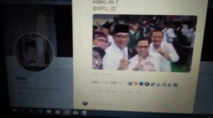 Video Ridwan Kamil pose 1 jari (ist)