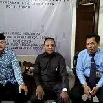 Walikota Bima Arya saat dipanggil Bawaslu Kota Bogor (adi)