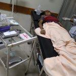 Wanita paruh baya yang tewas disambar kereta api di Kedungbadak Kota Bogor (adi)
