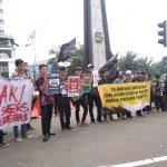 Lembaga Dakwah Kampus (LDK) Kota Bogor aksi menolak valentine day (adi)