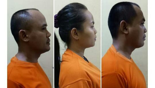 S dan I (Suami Istri) kemudian K. Ketiga orang ini ditangkap Satres Narkoba Polres Purwakarta