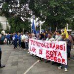 Aksi PMII Kota Bogor