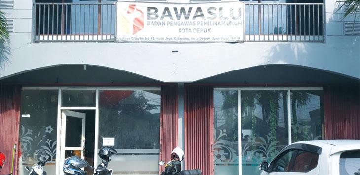 MEGAH: Penampakan kantor Sekretariat Bawaslu Kota Depok di Jalan Nusantara Raya, Nomor 1, Kelurahan Beji, Kecamatan Beji. Ricky/Radar Depok