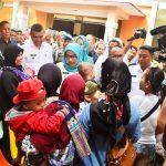 Bupati Bogor Ade Yasin dalam Rebo Keliling (Boling) di Kecamatan Rancabungur (rishad)