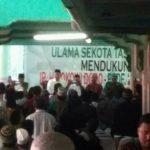 Dugaan dukungan Paslon 01 di acara sosialisasi OJK di Tasikmalaya