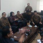 Sejumlah investor asal Cianjur yang tergabung dalam Forum Penggagas Percepatan Pembangunan dan Pengembangan Wilayah Puncak (FP4WP) menggelar audensi dengan DPRD Cianjur.