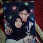 Foto Ujang Nuryanto bersama istrinya (arif)