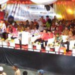 Gubernur Jawa Barat Ridwan Kamil bersama Walikota Bogor Bima Arya, Dahlan Iskan dan tamu undangan lainnya di Cap Go Meh (CGM) 2019 (adi)