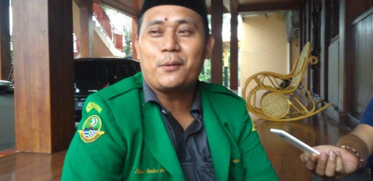 Johan, Sekum DPW GP Ansor Jawa Barat (yon)