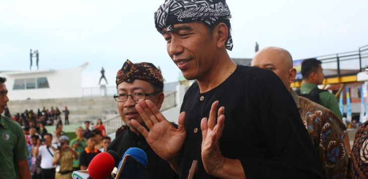 Jokowi saat berada di Cianjur Jawa Barat (ist)