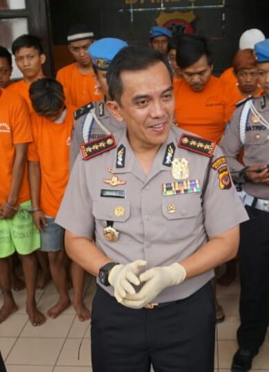 Kapolrestabes Bandung Kombes Pol Irman Sugema (arif)