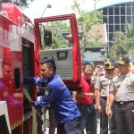 Kebakaran Vihara di Bandung