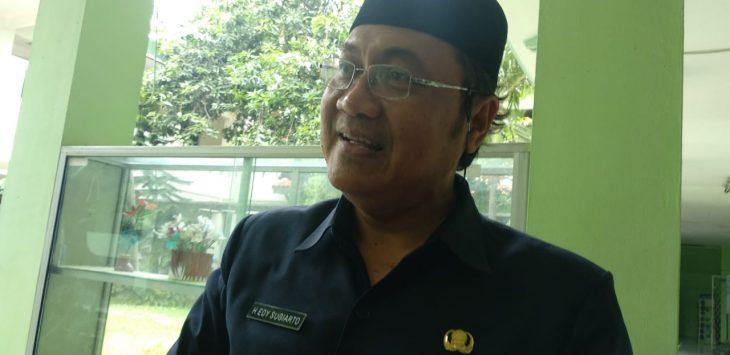 Kepala Dinas Kesehatan (Kadinkes) Kota Cirebon, Edi Sugiarto. (Alwi)