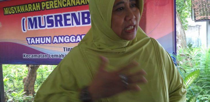 Ketua Fraksi Partai Golkar DPRD Kabupaten Cirebon Diah Irwani Indriyati (yon)