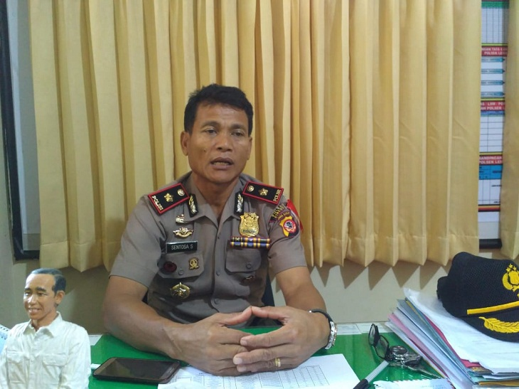 Kompol Sentosa Sembiring Kapolsek Lemahabang