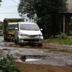 Kondisi Jalan Sasakpanjang Kabupaten Bogor