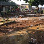 Kondisi banjir bandang di Pasirjati Kecamatan Cilengkrang Bandung timur yang terkena banjir bandang (arif)