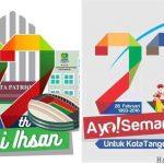 Logo HUT Kota Bekasi dan Kota Tangerang Dianggap Mirip, Benarkah