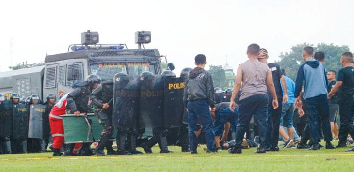 Latihan pengamanan pemilu digelar di Markas Batalyon Armed 9 Pasopati Kostrad. Pengamanan tersebut melibatkan TNI, Polisi, Satpol PP dan Damkar Purwakarta.