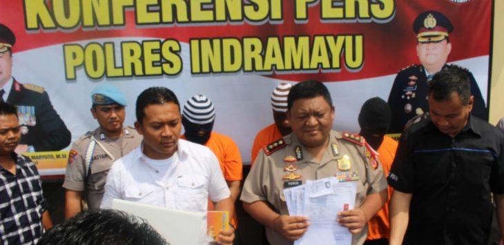 Pelaku spesialis perdagangan orang ditangkap Satreskrim Polres Indramayu (yanto)