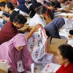 Pelipatan surat suara KPU Kabupaten Bogor
