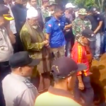 Pemakaman korban longsor di Ciomas Bogor