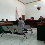 Persidangan mantan Kalapas Sukamiskin Wahid Hussein (arif)