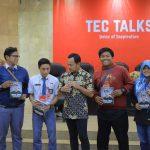 c Pemuda Kota Bogor menggebrak. 150 peserta dari kalangan SMA dan mahasiswa mengikuti Technology, Education and Creativity (TEC) di Balai Kota, Minggu (17/2).