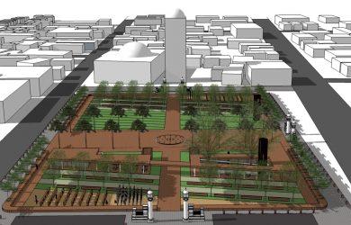 Rancangan alun alun Majalengka yang diposting Ridwan Kamil di Instagram (ist)