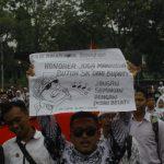Salah satu aksi honorer di Kabupaten Bogor yang menuntut SK bupati (rishad)