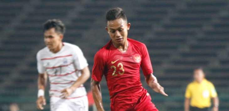 Sani Rizki, salah satu pemain timnas U-23 (ist)