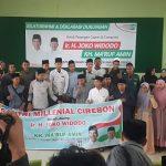 Santri Milenial Cirebon Dukung Paslon Nomor 1