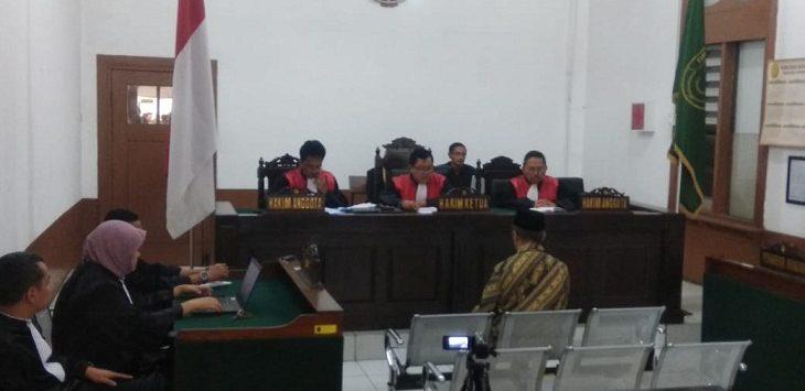 Sidang Suap Bupati Cirebon di PN Tipikor Bandung./Foto: Arief