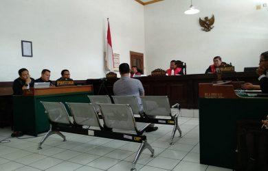 Sidang di Pengadilan Tipikor Bandung