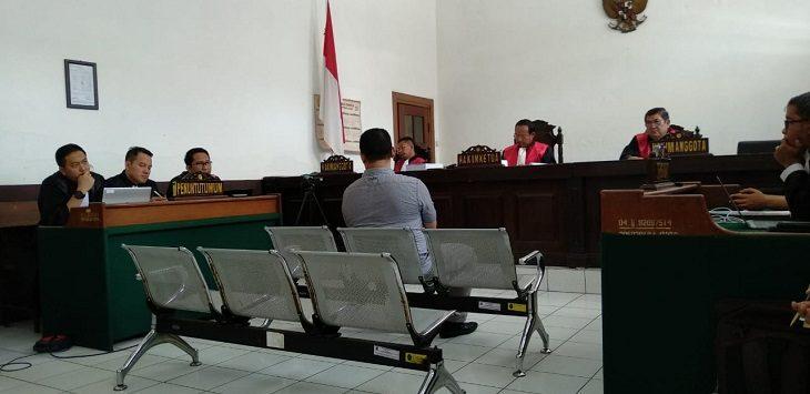 Sidang di Pengadilan Tipikor Bandung./Foto: Arief