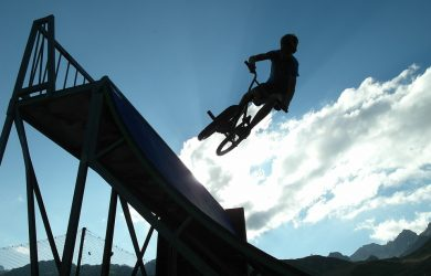Sirkuit BMX di Tambun Tak Memadai