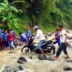 Sungai Cibatu Halang Cianjur