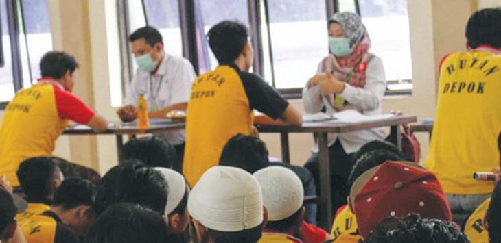 Dinas Kesehatan (Dinkes) Kota Depok menemukan tiga orang terduga atau suspect TB Paru. Ist